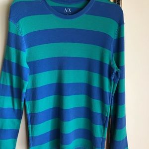 A/X Armani Exchange thermal pullover EUC